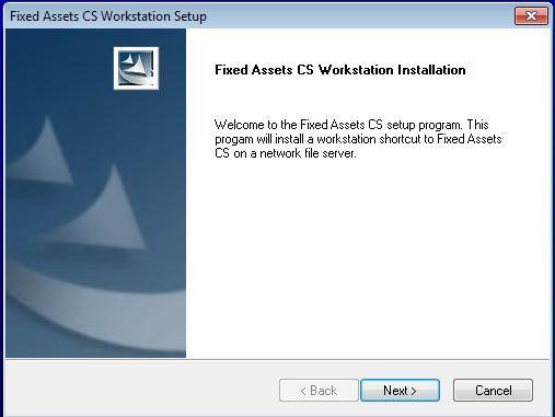 fixed asset cs